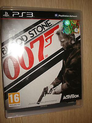 Game PS3 PLAYSTATION 3 Blood Stone 007 Manual in Italian Game in English comprar usado  Enviando para Brazil