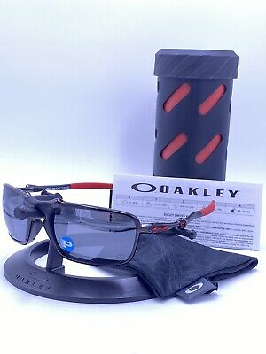 Oakley OO6020-07 BADMAN™ POLARIZED Dark Carbon/ black Iridium AUTHENTIC FERRARI
