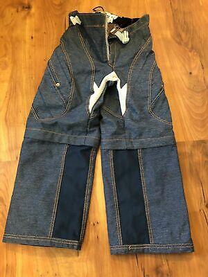 THOR Youth Kids size 22 24 atv Dirt bike Motocros BMX Pants Legs Zip Off Shorts
