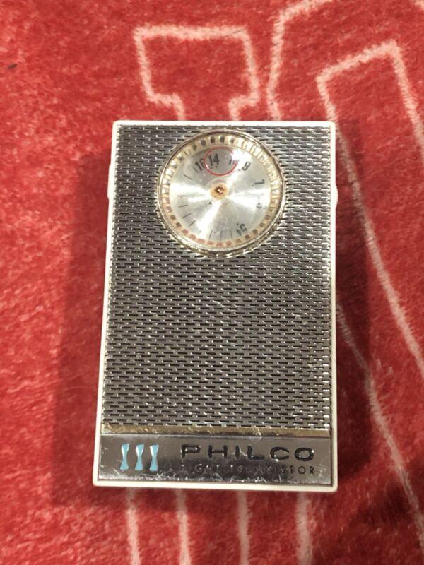 Philco Eight Transistor Model NT 802 WHG