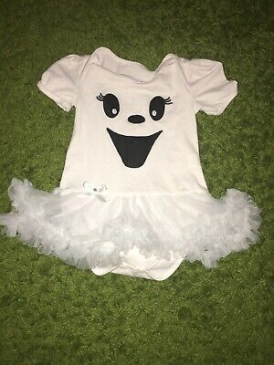 Halloween Baby Ghost Babygrow Body Size 1.5-2 Years - Ghost Baby Halloween Kostüm