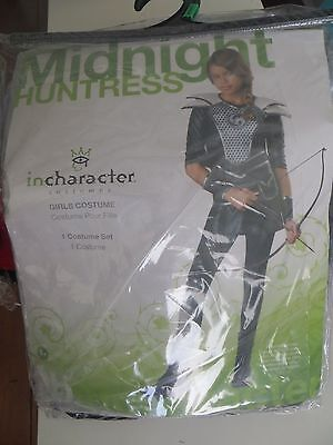Midnight Huntress Child Costume Katniss Hunger Games Theme Party Halloween LG - Hunger Games Themed Games