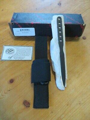 Discontinued Mint Effingham Blackjack Blue Devil Knife/Dagger/Throwing Knife NIB