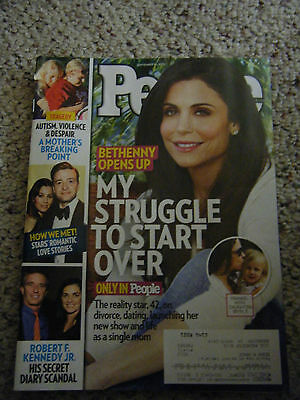 People Magazine   Bethenny Frankel Cover   September 23  2013