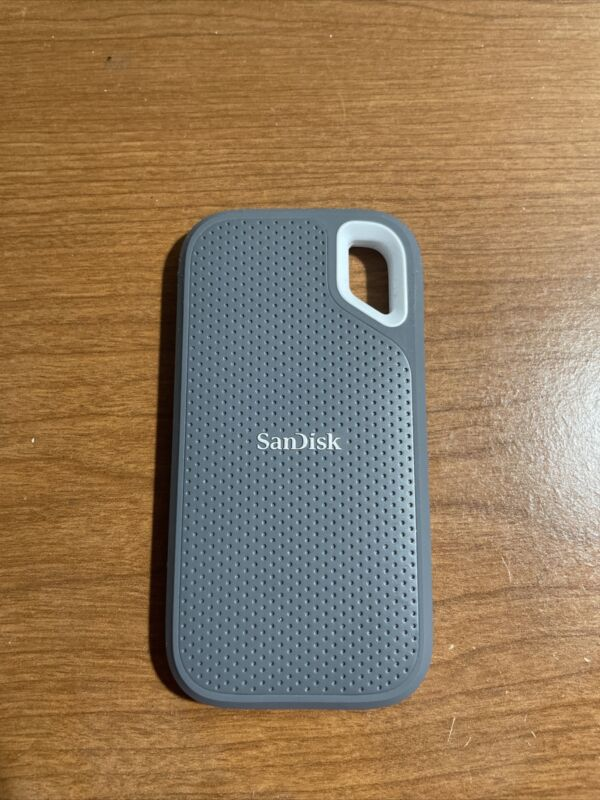 SanDisk Extreme 1TB,External (SDSSDE60-1T00) Solid State Drive