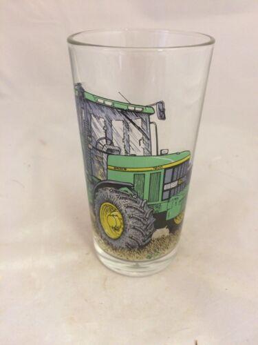JOHN DEERE TRACTOR  1pt CONICAL BEER  GLASS