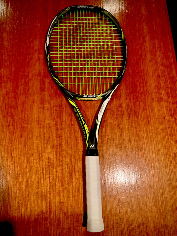 Yonex Ezone DR 98 4 5/8 Used Condition Freshly Strung With New Head Guard.