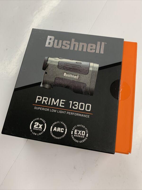 Bushnell Prime 1300 6x24mm Digital Laser Rangefinder, Black - LP1300SBL NEW