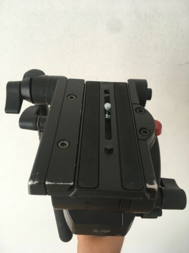Manfrotto 526 Pro Video Fluid Head with 100mm bowl  IN GOOD CONDITION
