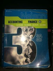 ACCOUNTING AND FINANCE for 3AB textbook Riverton Canning Area Preview