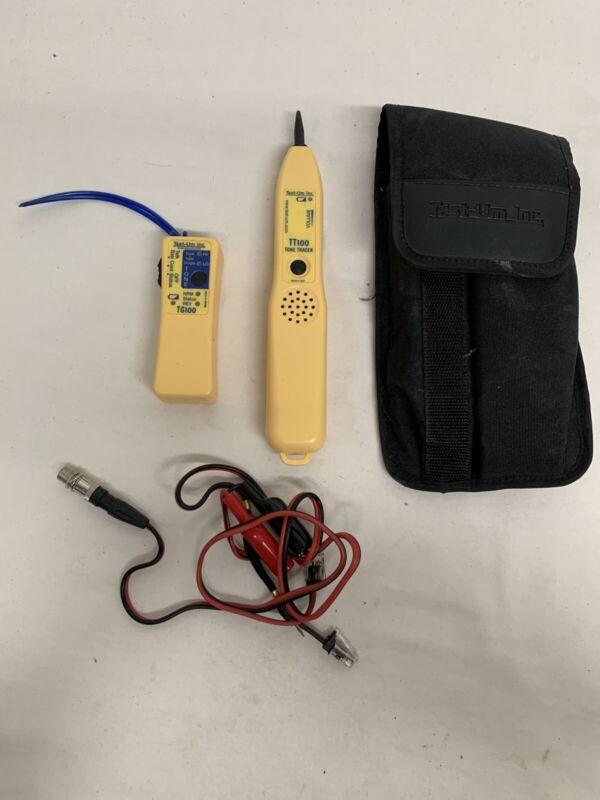 Test-Um Tone Generator TG200 & TT100 With Case