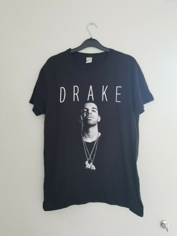 Drake Assassination Vacation Tour T-shirt Tee Memorabilia in Black - Size Medium
