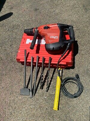 Hilti Te 70 Hammer Drill With 5 Bits