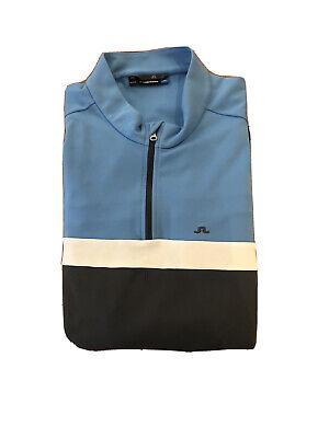 Mens J. Lindeberg Midlayer Golf Pullover