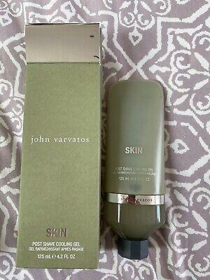 John Varvatos Skin Post Shave Cooling Gel ! New In Box !!
