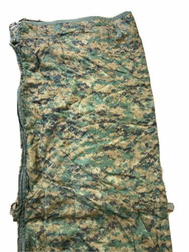 Genuine US Military USGI Poncho Liner Blanket Woobie USMC MARPAT Coyote Zipper