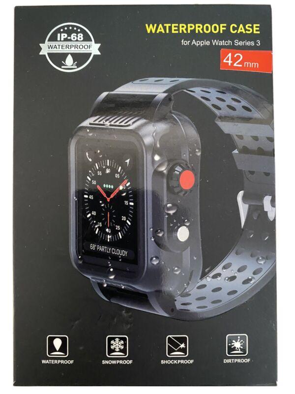 Waterproof Shockproof Case for Apple Watch Series 3 (42mm) IP-68