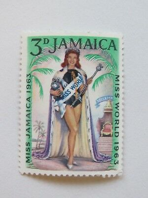 Vintage 1963 Jamaica Miss World 3d - MNH