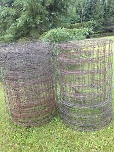 Page wire fencing