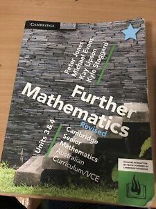 Further mathematics unit 3&4