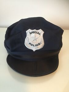 NEW Adult (14+) Navy Police Costume Hat.  Paid $11.29 ... $5.00