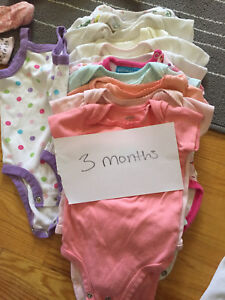 3 months baby girls lot