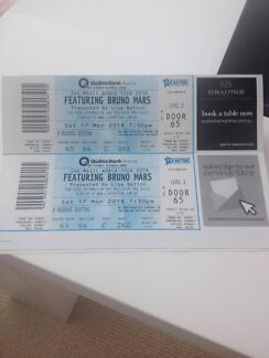 Bruno Mars tickets - Sydney