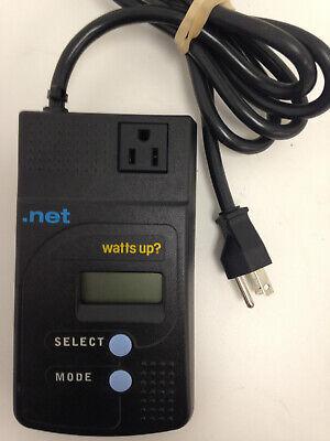 Watts Up? Pro Power Usage Electricity Meter Monitor 1800 Watt ES .net