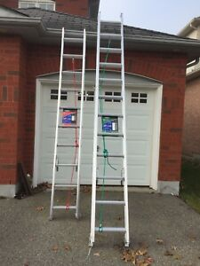 Brand new extension ladders