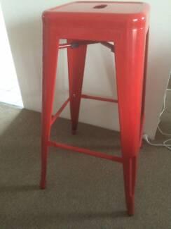 Red Bar stools Wollongong 2500 Wollongong Area Preview