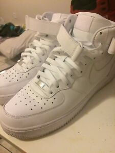 Nike Air Force One Size US 11 (all white)