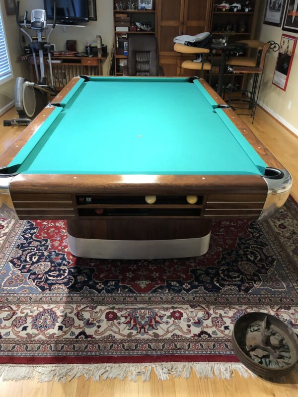 1940's Brunswick Pool Table