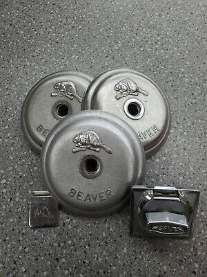Beaver Gumball Vending Parts. 3 Tops 1 Coin Mech25cent 1 Chute Cover Flap