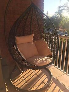 Hanging outdoor egg chair Mermaid Waters Gold Coast City Preview