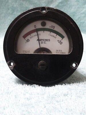 Military Generator Mep- 804a Original Amp Meter 6625008693141 Or 69574