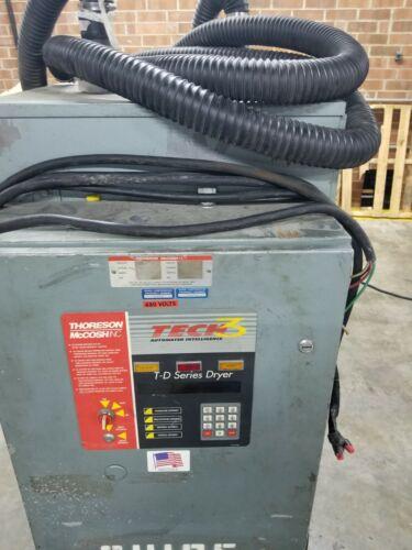 Dryer Thoreson McCosh TD120 plastic resin dryer & hopper