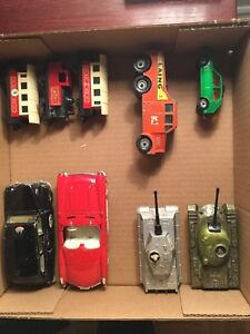 Corgi, Lesney and Matchbox toys
