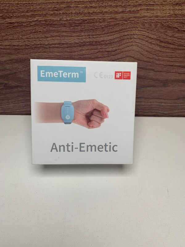 EmeTerm Anti-Emetic Morning Motion Sickness Nausea Chemotherapy Relief Band (OB)
