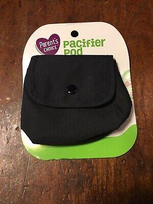 Black Pacifier Pod Brand New Parents Choice Brand