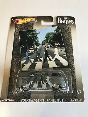 2019 HOT WHEELS POP CULTURE THE BEATLES VOLKSWAGEN T1 PANEL BUS