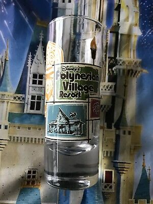 DISNEY'S POLYNESIAN VILLAGE TALL SHOT GLASS NEW WALT DISNEY WORLD Tall Shot Glass