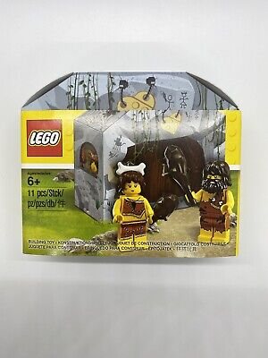 LEGO Iconic Cave Set 5004936 Caveman & Cavewoman Minifigures *NEW SEALED*