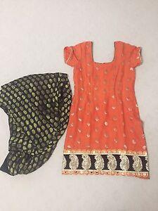 $70 Women's Indian salwar suit - stitched punjabi salwar suit