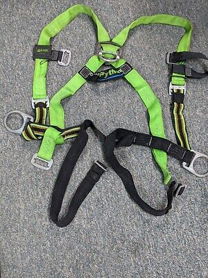 Miller Python Safety Harness -3 D Rings- Universal Size -free Ship