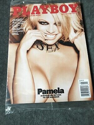 Playboy Magazine Jan/Feb 2016 - Pam Anderson - Last Nude Edition -In Sleeve NEW