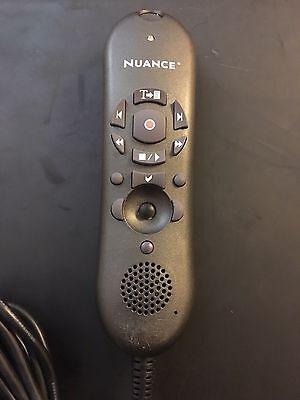 Nuance Dragon Dictaphone 0POWM2N-005 PowerMic II USB Dictation Microphone Black