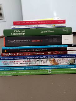 Year 11 and 12 ATAR textbooks