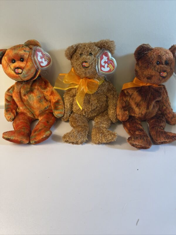 TY Beanie Babies MC MASTERCARD IV, V, VI MasterCard Exclusive New With Tags!