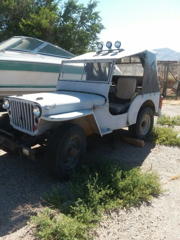 Classic Jeep military 1943 only few miles since rebuild engine and trans.