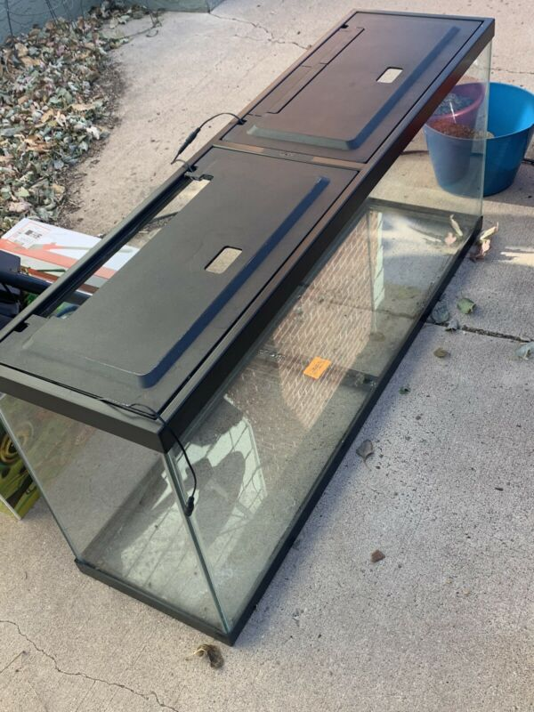 55 gallon GLASS Aquarium - Reptile / Fish Tank Pro Grade WITH STAND AND EXTRAS!